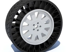 Airless Tire 3D
