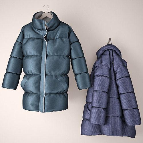 clothing 3d model max fbx 1