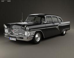 3D GAZ 13 Chaika 1959
