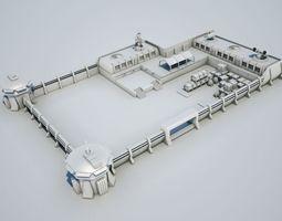 3d scifi military base02