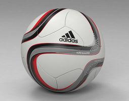 euro qualifier 2016 official match  ball 3d model max obj