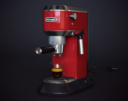 3d coffee-machine delonghi ec 680