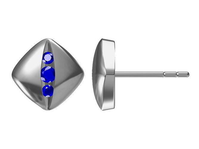 silver earrings 1717 3d model jcad jcd 1