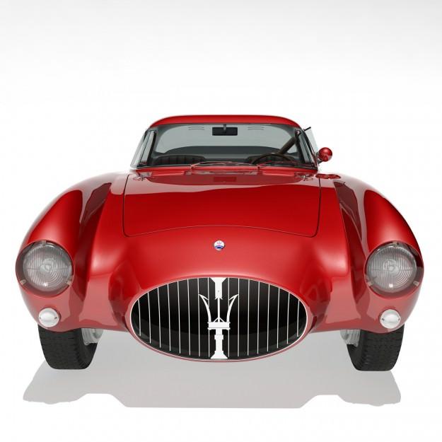 ... 1953 Maserati A6 Gcs 53 Pininfarina Berlinetta 3d Model Max Obj Fbx 6  ...