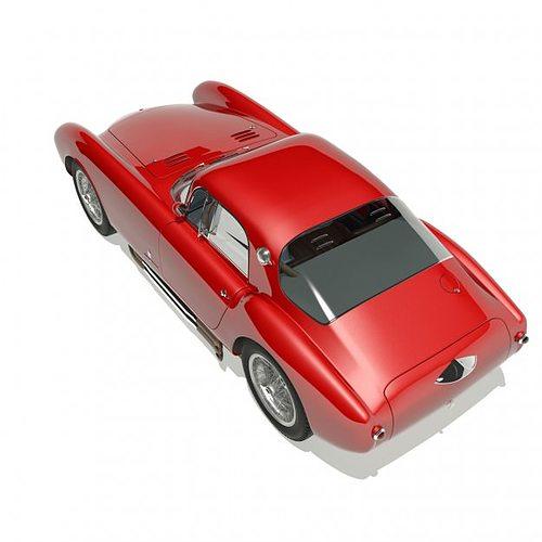 1953 maserati a6 gcs 53 pininfarina berlin... 3d model max 7
