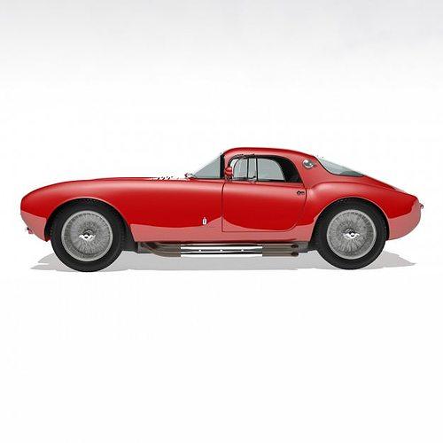 1953 Maserati A6 Gcs 53 Pininfarina Berlinetta 3d Model Max Obj Fbx 11