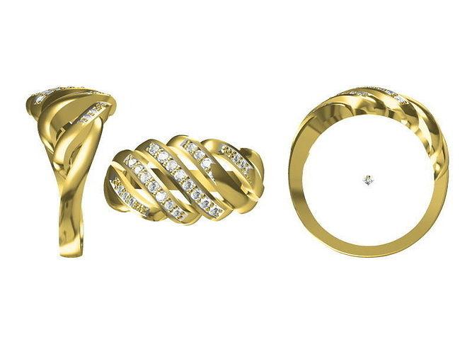 golden ring 1812 3d model jcad jcd 1