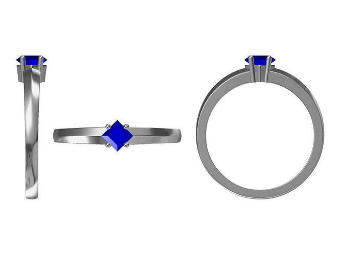 diamond ring 1739 3d model jcad jcd 1