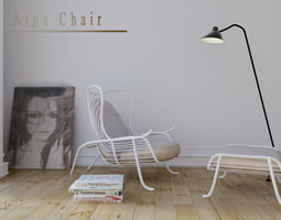 3D Arpa lounge chair
