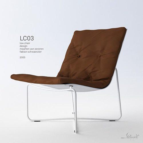 low chair 03 3d model max pdf 1