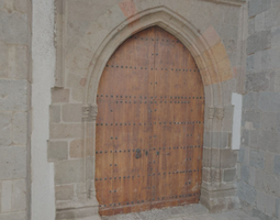 church side door - hd scan 3d