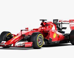 Ferrari SF15-T Formula 2015 3D Model