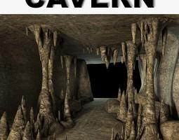 3d model cavern