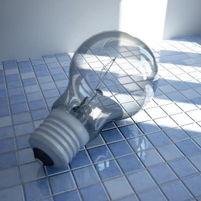 Light bulb | 3D model