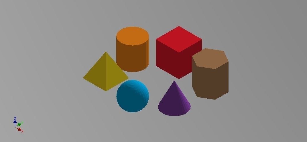 Geometric Shapes free 3D Model 3D printable STL | CGTrader.com