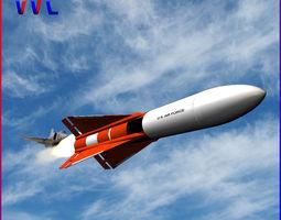 Falcon GAR-1 missile 3D model