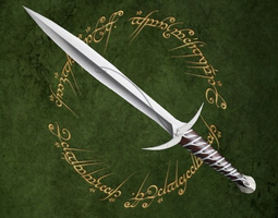sting swords VR / AR ready 3d asset