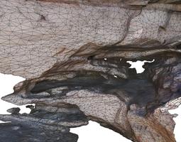 Cave complex I - Lowpoly 3D model
