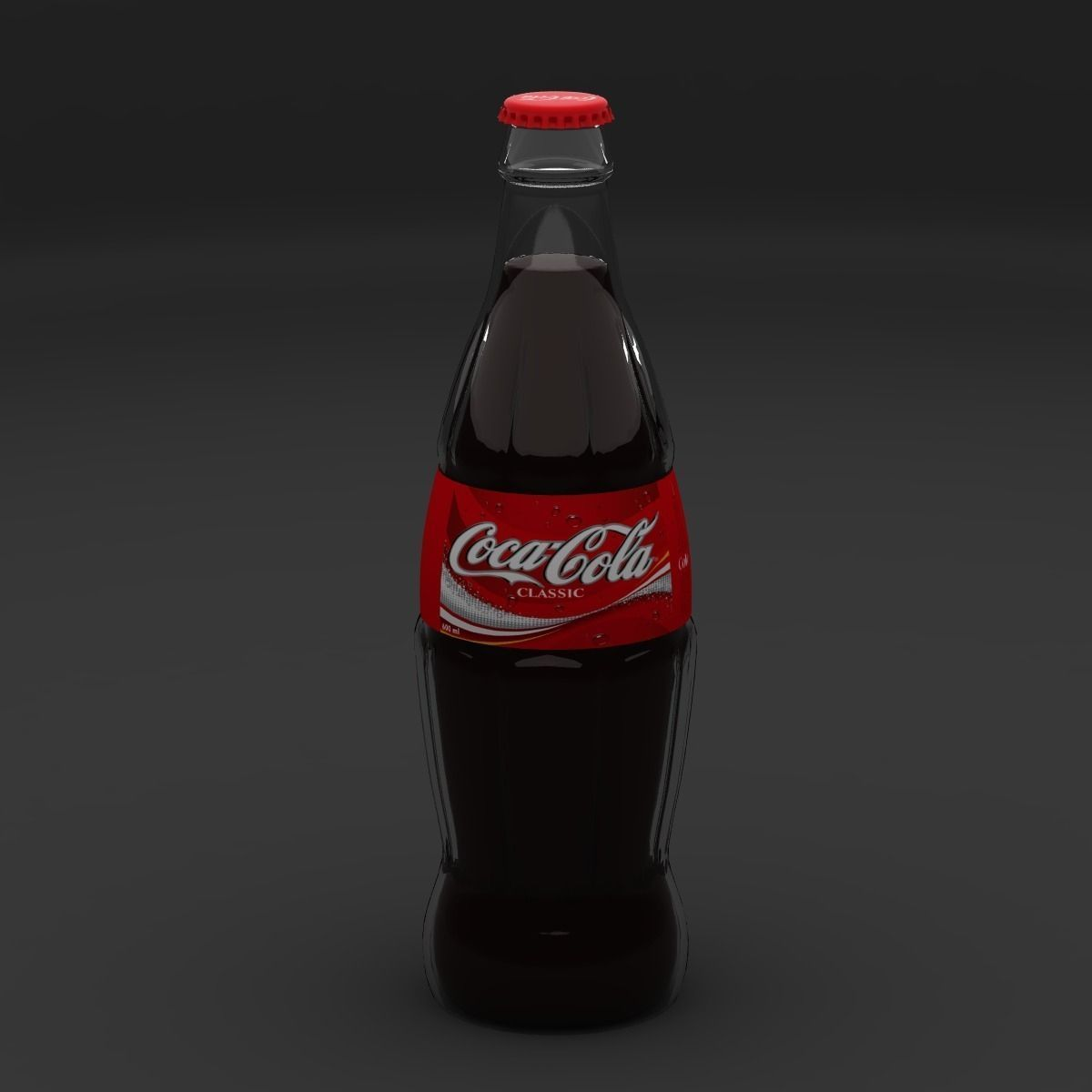 Coca Cola Bottle And Can 3d Model 3ds Max Files Free
