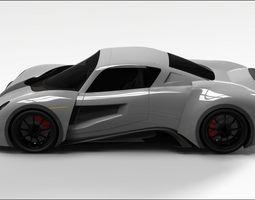 3D Sport car sport
