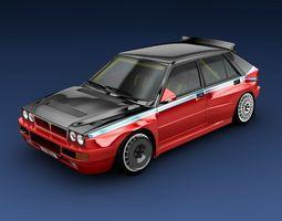 Lancia Delta evo 3D