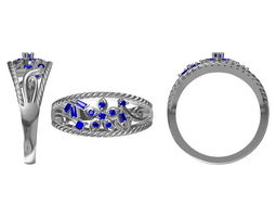 Diamond Ring 2339 3D model