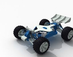 OpenRC 110 3D Printable RC Truggy