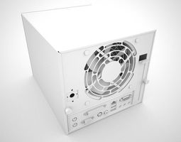 Boks Design Mini Fileserver 3D model