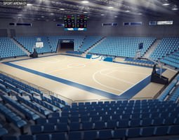 basketball arena 3d asset realtime