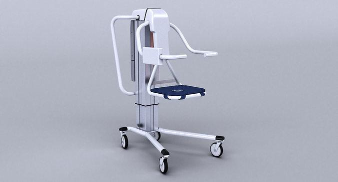handicap bath seat lift 3d model max obj mtl 3ds fbx 1
