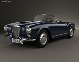 3D model Lancia Aurelia GT convertible 1954