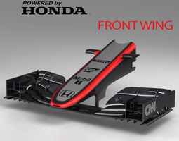 Mp4-30 Front wing 3D asset