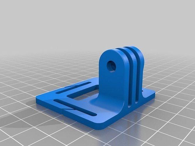 gopro head strap mount 2 3d model stl stp 5