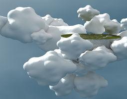 3D model Sarmisegetuza Regia in the sky II