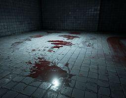 30 blood decals 3d model