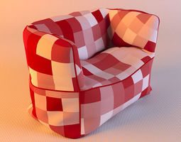 Bag Chair 3D