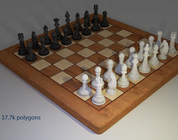 3D asset Chess game
