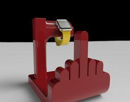 3d print model f off watch holder