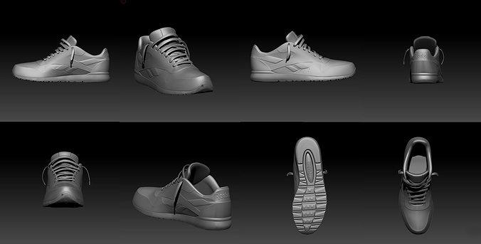 33574a8e3bb reebok shoe model 3D model