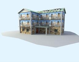 landscape Building 3D asset VR / AR ready