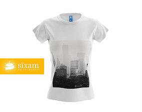 3D model Women T-Shirt