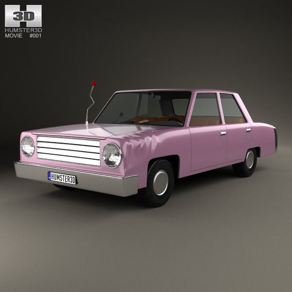 3d The Simpsons Homer Car 1989 Cgtrader