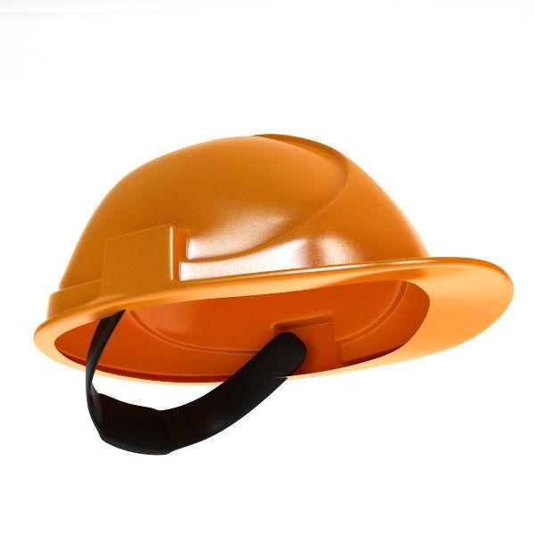 Worker helmet low poly