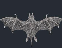 Vampire Bat Monster 2 3D Model