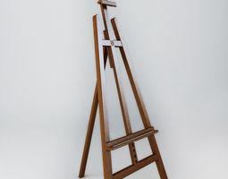 3D model Easel