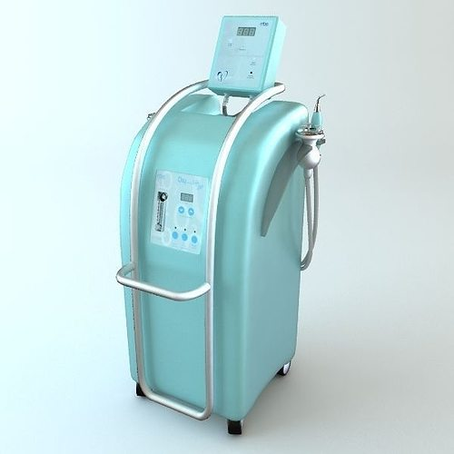 medical machine device 3d model max 3ds fbx unitypackage prefab 1