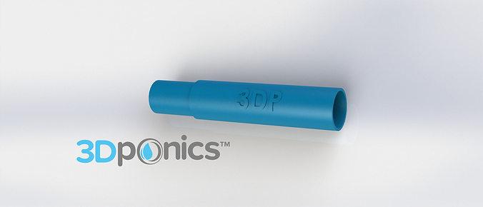 round support rod - 3dponics drip hydroponics 3d model obj mtl stl sldprt sldasm slddrw 1