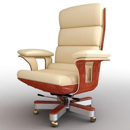 directoria armchair md991 3d model max obj mtl 3ds fbx 1