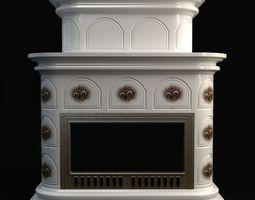 3d fireplace 3