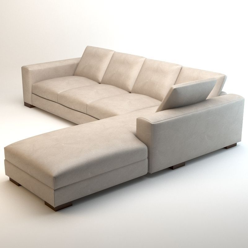 Asnaghi leonardo grand hotel sofa 3d model max obj 3ds fbx for Sofa 3d model